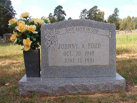 FORD, JOHNNY A - Dallas County, Arkansas | JOHNNY A FORD - Arkansas Gravestone Photos