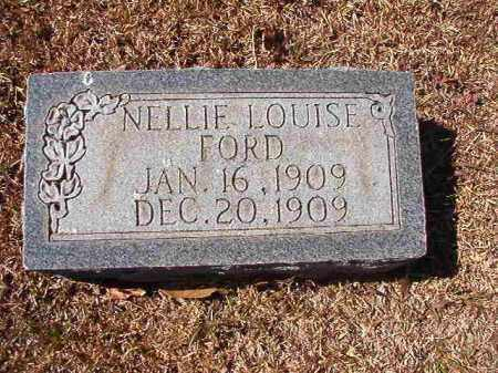 FORD, NELLIE LOUISE - Dallas County, Arkansas | NELLIE LOUISE FORD - Arkansas Gravestone Photos