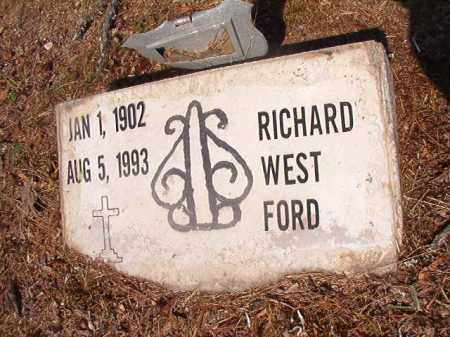 FORD, RICHARD WEST - Dallas County, Arkansas | RICHARD WEST FORD - Arkansas Gravestone Photos