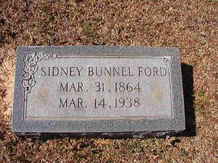 FORD, SIDNEY BUNNEL - Dallas County, Arkansas | SIDNEY BUNNEL FORD - Arkansas Gravestone Photos