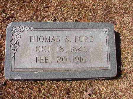 FORD, THOMAS S - Dallas County, Arkansas | THOMAS S FORD - Arkansas Gravestone Photos