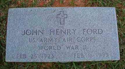 FORD (VETERAN WWII), JOHN HENRY - Dallas County, Arkansas   JOHN HENRY FORD (VETERAN WWII) - Arkansas Gravestone Photos