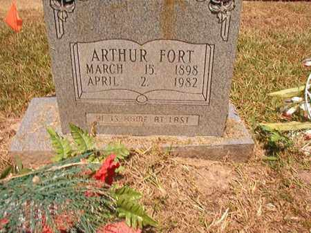 FORT, ARTHUR - Dallas County, Arkansas | ARTHUR FORT - Arkansas Gravestone Photos