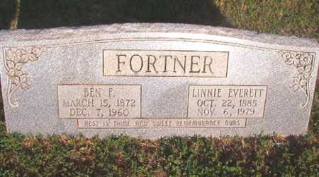 FORTNER, BEN F - Dallas County, Arkansas | BEN F FORTNER - Arkansas Gravestone Photos
