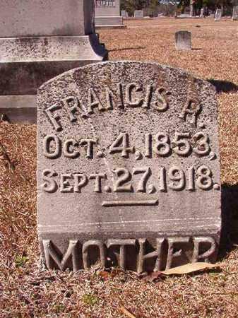 FORTUNE, FRANCIS R - Dallas County, Arkansas | FRANCIS R FORTUNE - Arkansas Gravestone Photos