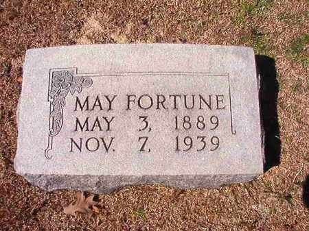 FORTUNE, MAY - Dallas County, Arkansas | MAY FORTUNE - Arkansas Gravestone Photos