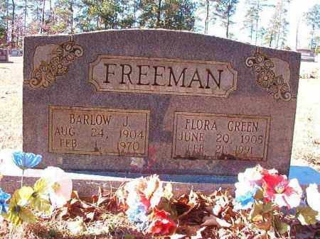 GREEN FREEMAN, FLORA - Dallas County, Arkansas | FLORA GREEN FREEMAN - Arkansas Gravestone Photos
