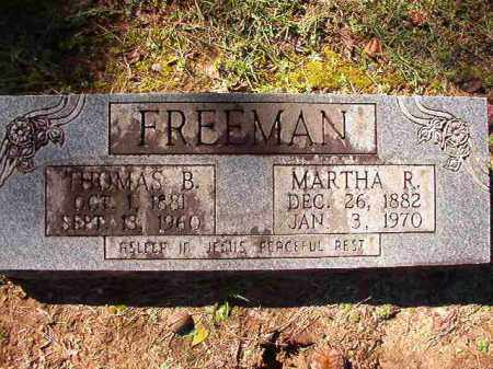 FREEMAN, MARTHA R - Dallas County, Arkansas | MARTHA R FREEMAN - Arkansas Gravestone Photos