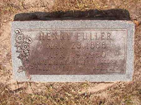 FULLER, HENRY - Dallas County, Arkansas | HENRY FULLER - Arkansas Gravestone Photos