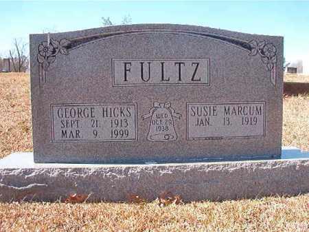 FULTZ, GEORGE HICKS - Dallas County, Arkansas | GEORGE HICKS FULTZ - Arkansas Gravestone Photos