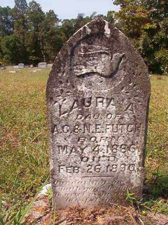 FUTCH, LAURA A - Dallas County, Arkansas | LAURA A FUTCH - Arkansas Gravestone Photos