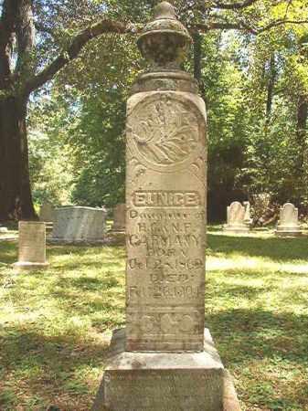 GARMANY, EUNICE - Dallas County, Arkansas | EUNICE GARMANY - Arkansas Gravestone Photos