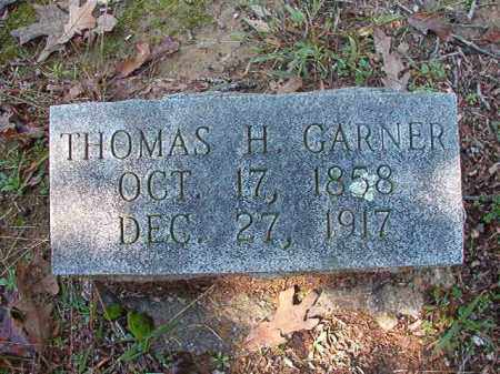 GARNER, THOMAS H - Dallas County, Arkansas | THOMAS H GARNER - Arkansas Gravestone Photos