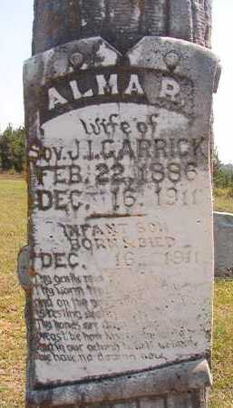 GARRICK, ALMA R - Dallas County, Arkansas | ALMA R GARRICK - Arkansas Gravestone Photos