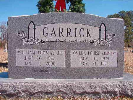 GARRICK, JR, WILLIAM THOMAS - Dallas County, Arkansas | WILLIAM THOMAS GARRICK, JR - Arkansas Gravestone Photos