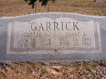 GARRICK, MOLLIE A - Dallas County, Arkansas | MOLLIE A GARRICK - Arkansas Gravestone Photos