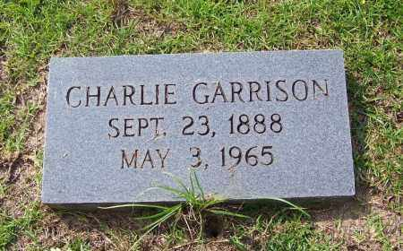 GARRISON, CHARLIE - Dallas County, Arkansas | CHARLIE GARRISON - Arkansas Gravestone Photos