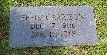 GARRISON, EFFIE - Dallas County, Arkansas | EFFIE GARRISON - Arkansas Gravestone Photos