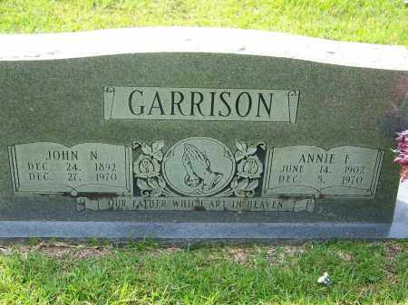GARRISON, JOHN N - Dallas County, Arkansas | JOHN N GARRISON - Arkansas Gravestone Photos