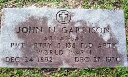 GARRISON (VETERAN WWI), JOHN - Dallas County, Arkansas | JOHN GARRISON (VETERAN WWI) - Arkansas Gravestone Photos