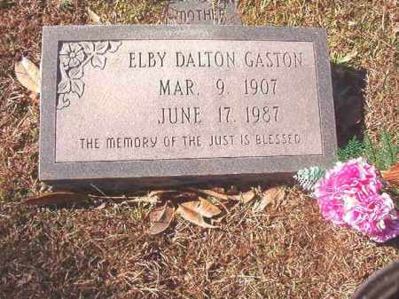 GASTON, ELBY DALTON - Dallas County, Arkansas | ELBY DALTON GASTON - Arkansas Gravestone Photos