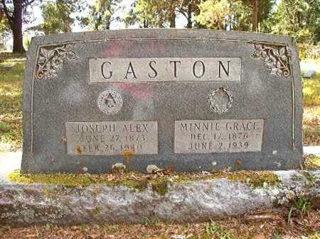 GASTON, MINNIE GRACE - Dallas County, Arkansas | MINNIE GRACE GASTON - Arkansas Gravestone Photos