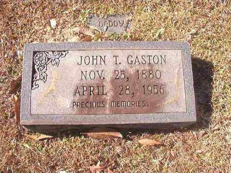 GASTON, JOHN T - Dallas County, Arkansas | JOHN T GASTON - Arkansas Gravestone Photos