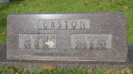 MANNING GASTON, LUCY - Dallas County, Arkansas | LUCY MANNING GASTON - Arkansas Gravestone Photos