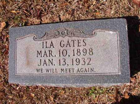 GATES, ILA - Dallas County, Arkansas | ILA GATES - Arkansas Gravestone Photos