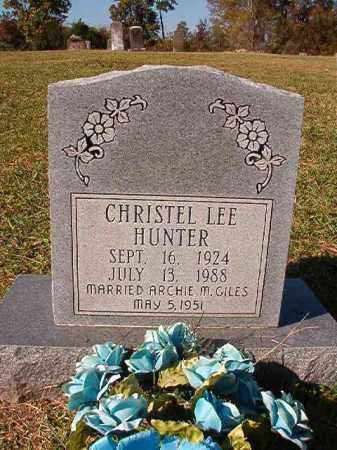 GILES, CHRISTEL LEE - Dallas County, Arkansas | CHRISTEL LEE GILES - Arkansas Gravestone Photos