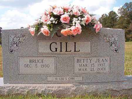 GILL, BETTY JEAN - Dallas County, Arkansas | BETTY JEAN GILL - Arkansas Gravestone Photos