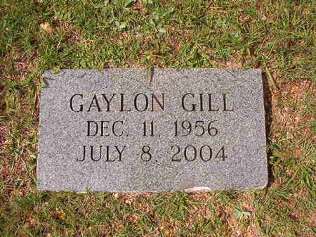 GILL, GAYLON - Dallas County, Arkansas | GAYLON GILL - Arkansas Gravestone Photos