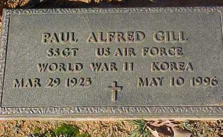 GILL (VETERAN 2 WARS), PAUL ALFRED - Dallas County, Arkansas | PAUL ALFRED GILL (VETERAN 2 WARS) - Arkansas Gravestone Photos