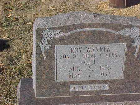 GILL, ROY WARREN - Dallas County, Arkansas | ROY WARREN GILL - Arkansas Gravestone Photos