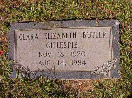 GILLESPIE, CLARA ELIZABETH - Dallas County, Arkansas | CLARA ELIZABETH GILLESPIE - Arkansas Gravestone Photos