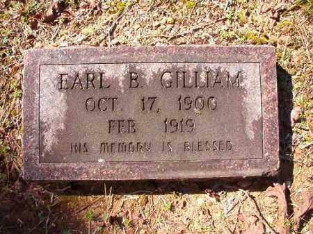GILLIAM, EARL B - Dallas County, Arkansas | EARL B GILLIAM - Arkansas Gravestone Photos