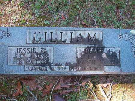 GILLIAM, JESSIE D - Dallas County, Arkansas | JESSIE D GILLIAM - Arkansas Gravestone Photos