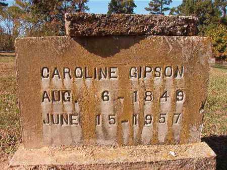 GIPSON, CAROLINE - Dallas County, Arkansas | CAROLINE GIPSON - Arkansas Gravestone Photos