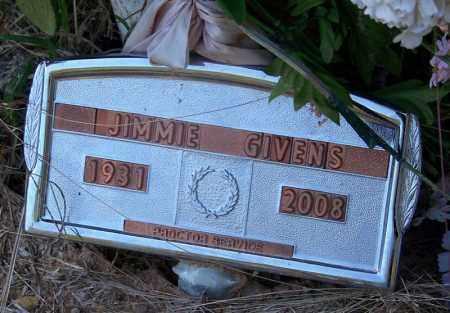 GIVENS, JIMMIE - Dallas County, Arkansas   JIMMIE GIVENS - Arkansas Gravestone Photos