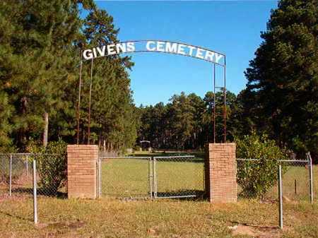 *GIVENS CEMETERY,  - Dallas County, Arkansas |  *GIVENS CEMETERY - Arkansas Gravestone Photos