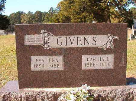 GIVENS, DAN HALL - Dallas County, Arkansas | DAN HALL GIVENS - Arkansas Gravestone Photos