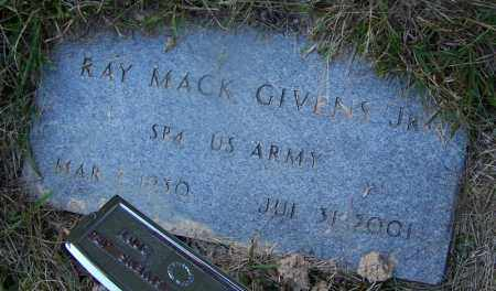 GIVENS, JR (VETERAN), RAY MACK - Dallas County, Arkansas | RAY MACK GIVENS, JR (VETERAN) - Arkansas Gravestone Photos