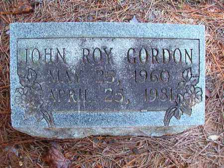 GORDON, JOHN ROY - Dallas County, Arkansas | JOHN ROY GORDON - Arkansas Gravestone Photos