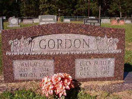 BUTLER GORDON, LUCY - Dallas County, Arkansas | LUCY BUTLER GORDON - Arkansas Gravestone Photos