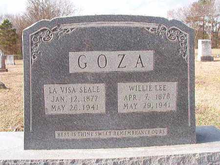 GOZA, WILLIE LEE - Dallas County, Arkansas | WILLIE LEE GOZA - Arkansas Gravestone Photos