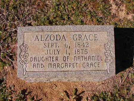 GRACE, ALZODA - Dallas County, Arkansas | ALZODA GRACE - Arkansas Gravestone Photos