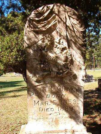 GRACE, BETTIE - Dallas County, Arkansas | BETTIE GRACE - Arkansas Gravestone Photos