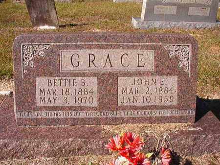 GRACE, BETTIE B - Dallas County, Arkansas | BETTIE B GRACE - Arkansas Gravestone Photos
