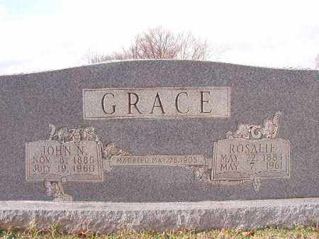 GRACE, JOHN N - Dallas County, Arkansas | JOHN N GRACE - Arkansas Gravestone Photos