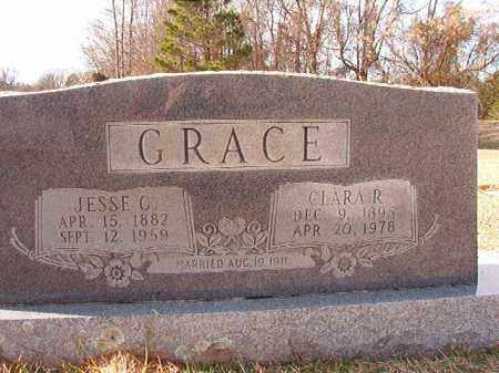 GRACE, JESSE C - Dallas County, Arkansas | JESSE C GRACE - Arkansas Gravestone Photos